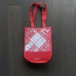 FREE Lululemon Reusable Tote Bag - Red